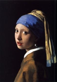 Jan Vermeer: Fată cu cercel de perlă, 1665 - foto: ro.wikipedia.org