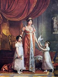 Marie Julie Bonaparte (născută Clary; 26 decembrie 1771 – 7 aprilie 1845), regină consort a Spaniei, Neapolelui și Siciliei ca soție a regelui Joseph Bonaparte, care a fost rege a Neapolelui și Siciliei din ianuarie 1806 până în iunie 1808 și mai târziu rege al Spaniei, din 25 iunie 1808 până în iunie 1813 - foto (Julie Clary și fiicele ei): ro.wikipedia.org