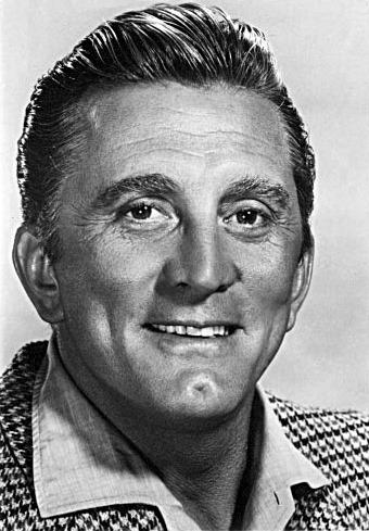 """Kirk Douglas (născut Issur Danielovitch Demsky; n. 9 decembrie 1916,[2] New York, SUA) este un foarte cunoscut și prolific actor, regizor, producător evreu-american de film, unul din puținii supraviețuitori ale """"Erei de Aur"""" a Hollywood-ului - foto: en.wikipedia.org"""