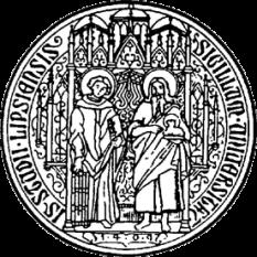 Universitatea Leipzig, aflată în orașul Leipzig, în landul Saxonia, este una dintre cele mai vechi universități din Germania - foto (Sigiliul Universității Leipzig):  ro.wikipedia.org