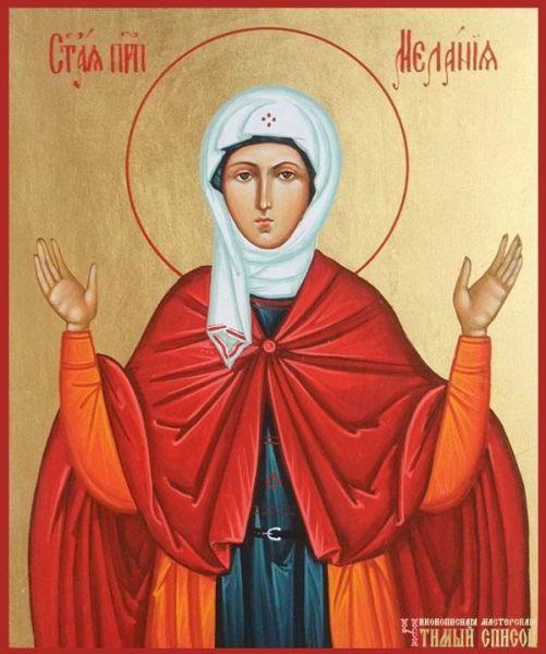 Sf. Cuv. Melania Romana (†439) - foto preluat de pe doxologia.ro