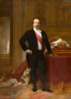 Charles-Louis-Napoléon Bonaparte (n. 20 aprilie 1808 — d. ianuarie 1873), a fost primul președinte al celei de a 2-a Republici Franceze în 1848 și a devenit apoi, în urma unei lovituri de stat din 1852, al doilea împărat al francezilor, sub numele de Napoléon al III-lea  - foto:  ro.wikipedia.org