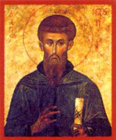Sfântul Cuvios Naum din Ohrida, făcătorul de minuni, luminătorul şi predicatorul slavilor. Biserica Ortodoxă il prăznuiește la data de 23 decembrie - foto: calendar-ortodox.ro