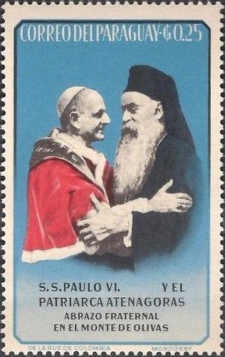 Papa Paul al VI-lea și Patriarhul Athenagoras I - foto: ro.wikipedia.org