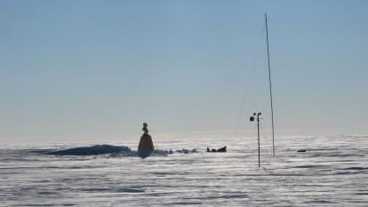 Bustul lui Lenin la Polul Sudic al Inaccesibilității - foto: ro.wikipedia.org