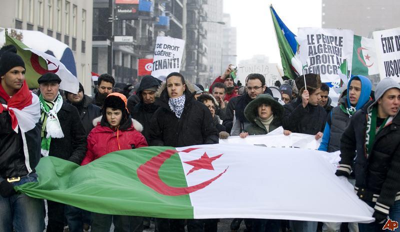 Proteste Algeria - foto: theapricity.com