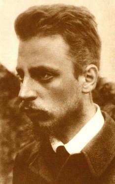 Rainer Maria Rilke (n. 4 decembrie 1875, Praga, Imperiul Austro-Ungar - d. 29 decembrie 1926 în sanatoriul Valmont de la Montreux, Elveția), autor austriac și unul din cei mai semnificativi poeți de limbă germană - foto:  ro.wikipedia.org