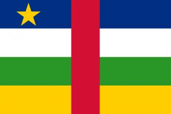 Drapelul Republicii Centrafricane - foto:  ro.wikipedia.org