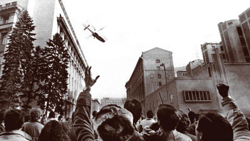 Revoluția Anticomunistă din România (16 – 25 decembrie 1989) - Fuga lui Ceauşescu - foto: historia.ro
