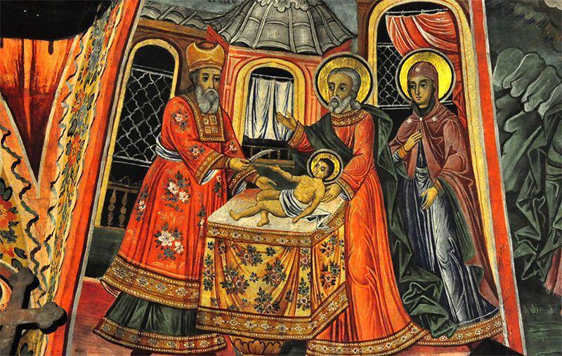 Tăierea împrejur cea după trup a Domnului - Prăznuirea sa în Biserica Ortodoxă se face la 1 ianuarie - foto: doxologia.ro