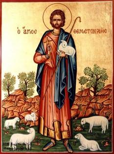 Sfântul Mucenic Temistocle S-a născut în orașul Mira-Lichiei din Asia Mică, unde a păstorit. A trăit pe la jumătatea secolului al III-lea, pe vremea împăratului Deciu. Prăznuirea sa se face în Biserica Ortodoxă Română pe 21 decembrie - foto: doxologia.ro