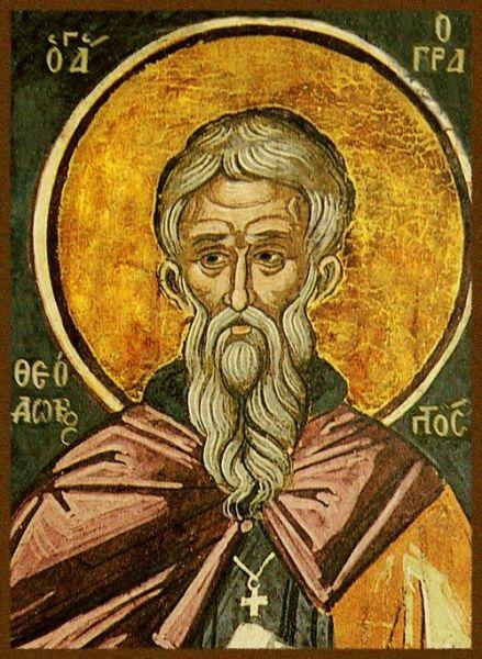 Sfântul Cuvios Teodor Mărturisitorul. Prăznuirea sa în Biserica Ortodoxă se face la 27 decembrie - foto: doxologia.ro