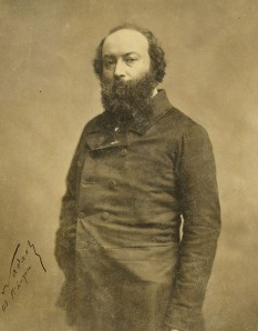 Théodore Rousseau (n. 15 aprilie 1812, Paris - d. 22 decembrie 1867, Barbizon), pictor francez, fondator al Școlii de la Barbizon - foto (Photo of Theodore Rousseau by Nadar): ro.wikipedia.org