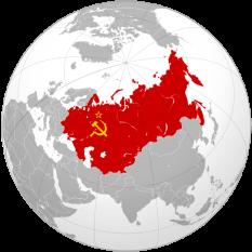 Uniunea Republicilor Sovietice Socialiste (abreviat URSS) (СССР),  (SSSR), cunoscută și ca Uniunea Sovietică, a fost un stat întins pe o mare parte din Nordul Eurasiei, și care a existat din 1922 până în 1991. Formarea sa a fost punctul culminant al Revoluției ruse din 1917, cea care l-a îndepărtat pe țarul Nicolae al II-lea - foto: ro.wikipedia.org