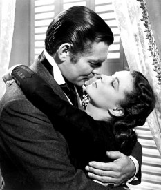 Vivien Leigh si Clark Gable - foto: ro.wikipedia.org