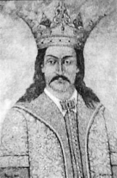 Vladislav I (n. 1325, d. 1377), domn al Țării Românești între 1364 și cca. 1377. A fost fiul lui Nicolae Alexandru și al Klárei Dobokay (care provenea dintr-o familie de nobili maghiari) și frate al voievodului Radu I. Vladislav I este cunoscut și sub numele de Vlaicu Vodă. A acceptat suzeranitatea maghiară, fapt pentru care a primit ca feude Amlașul, Severinul și Făgărașul - in imagine, (Vladislav I, portret mural)- foto: ro.wikipedia.org