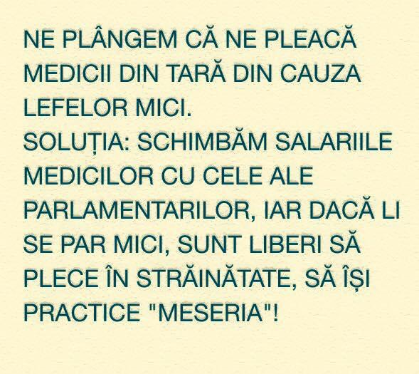 medici si parlamentari