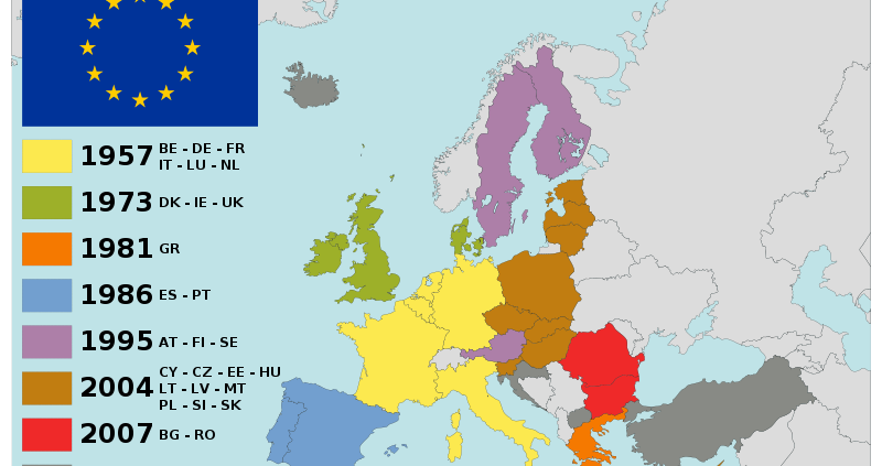 Largirea UE - foto preluat de pe ro.wikipedia.org