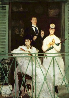 """Édouard Manet - """"The Balcony"""", Musée d'Orsay, 1868–1869 - foto: ro.wikipedia.org"""