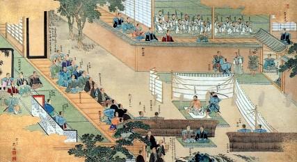 Painting of Ōishi Yoshio committing seppuku - foto: en.wikipedia.org