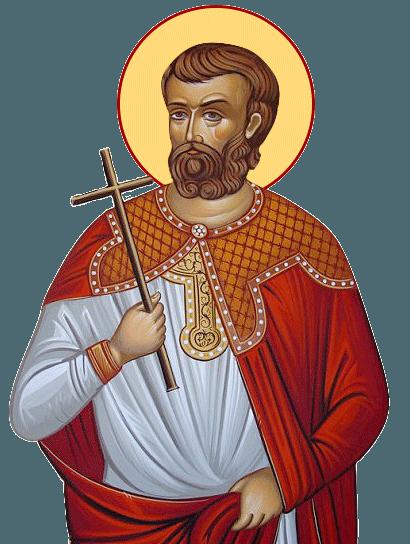Sfântul Mucenic Agatanghel. Pomenirea sa de către Biserica Ortodoxă se face la 23 ianuarie - foto: doxologia.ro