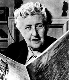 Agatha Mary Clarissa, Lady Mallowan, (născută Miller; 15 septembrie 1890 – 12 ianuarie 1976), cunoscută în general ca Agatha Christie, a fost o scriitoare engleză de romane, povestiri scurte și piese de teatru polițiste - foto: cersipamantromanesc.wordpress.com