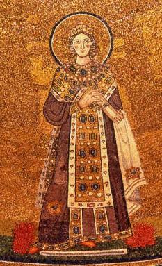 Sf. Agnesa (d. sec. III/IV) este o sfântă, martiră creștină la Roma - foto: ro.wikipedia.org