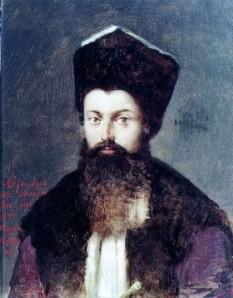 Alexandru Moruzi, (* 1750 - † 1816 ), a fost domn în Moldova: martie 1792 - ianuarie 1793, 4 octombrie 1802 - august 1806 și 17 octombrie 1806 - 19 martie 1807 și în Țara Românească: ianuarie 1793 - august 1796 și martie 1799 - octombrie 1801 - foto: ro.wikipedia.org