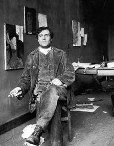 """Amedeo Modigliani (n. 12 iulie 1884, Livorno - d. 24 ianuarie 1920, Paris) a fost un pictor și sculptor italian stabilit în Franța, reprezentant al """"Școlii Pariziene"""" (""""École de Paris""""), evidențiat în scurta sa viață printr-o creație plină de eleganță și rafinament, care depășește granițele manierismului - foto: ro.wikipedia.org"""