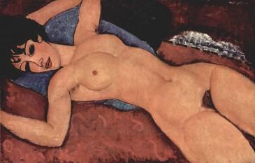 Amedeo Modigliani - Nud culcat, 1917 - foto: ro.wikipedia.org