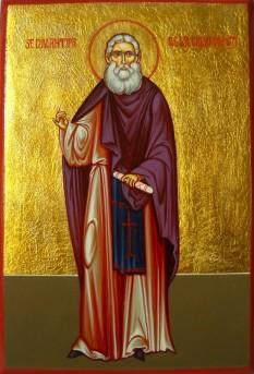 Sfântul Cuviosul Părintele nostru Antipa Atonitul de la Calapodești s-a născut în anul 1816 în comuna Calapodești, județul Bacău. S-a nevoit în viața călugărească vreme de 46 de ani, dobândind darul rugăciunii neîncetate, al povățuirii duhovnicești și pe cel al facerii de minuni. A adormit cu pace în anul 1882. Biserica Ortodoxă Română îl prăznuiește pe 10 ianuarie, data mutării lui la Domnul - foto: basilica.ro