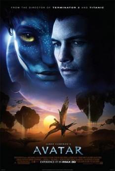 Avatar este un film epic științifico-fantastic american apărut la sfârșitul anului 2009, scris și regizat de regizorul canadian James Cameron (cele mai cunoscute producții ale acestuia fiind seria Terminator și Titanic). Acțiunea filmului se petrece în anul 2154 pe Pandora, o lună din sistemul stelar Alpha Centauri. Aici oamenii și-au stabilit o bază stelară pentru a exploata rezervele naturale de un prețios minereu ce se găsește pe satelitul natural, în timp ce populația aborigenă Na'vi - o rasă de aborigeni umanoizi - reușeste să reziste expansiunii coloniștilor, care le amenință existența lor precum și a ecosistemului pandorian. După spusele lui Cameron, titlul filmului se referă la trupurile modificate genetic utilizate de personajele din film pentru a interacționa cu populația Na'vi - foto: ro.wikipedia.org