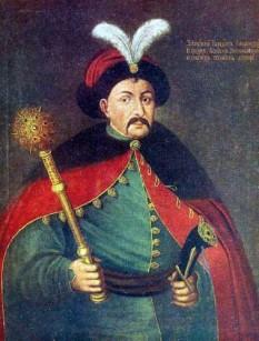 Bogdan Zinovi Mihailovici Hmelnițki (* cca 1595 — †6 august 1657) a fost un hatman al Hetmanatului cazacilor zaporijieni (din Ucraina) - foto: ro.wikipedia.org