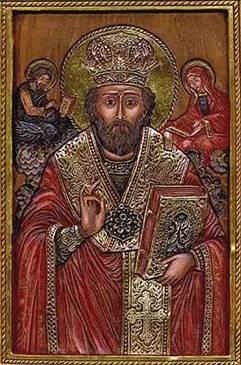 Sfântul Ierarh Bretanion sau Vetranion (~ †380-381) a fost un episcop de Tomis, originar din Capadocia, care a trăit în secolul al IV-lea, fiind probabil ucenic al Sfântului Ierarh Vasile cel Mare. A fost un apărător al credinței ortodoxe niceene împotriva arianismului. Biserica Ortodoxă îl prăznuiește la 25 ianuarie - foto: ro.orthodoxwiki.org