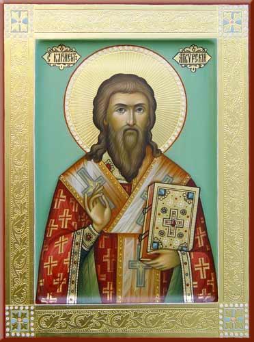 Sfântul Sfințit Mucenic Clement, Episcopul Ancirei. Pomenirea sa de către Biserica Ortodoxă se face la 23 ianuarie - foto: doxologia.ro