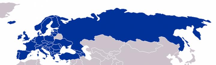 Harta statelor membre în Consiliul Europei - foto: ro.wikipedia.org