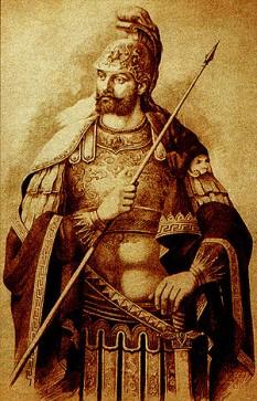 Constantin al XI-lea Paleologul (Dragases) a fost ultimul împărat bizantin, domnind între 1448 și 1453. S-a născut la 8 februarie 1405, fiind al patrulea dintre cei șapte fii ai împăratului Manuel al II-lea (1392-1425) și a murit la 29 mai 1453, căzând în ultima luptă, odată cu cucerirea Constantinopolului de către turcii otomani conduși de sultanul Mehmed al II-lea Fatih - foto: ro.wikipedia.org