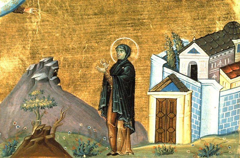 Sfânta Cuvioasă Domnica. Pomenirea sa de către Biserica Ortodoxă se face la 8 ianuarie - foto: doxologia.ro