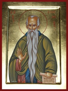 Preacuviosul părintele nostru Eftimie cel Mare (377-473) a fost un sfânt monah ortodox care a trăit în Palestina la sfârșitul secolului al IV-lea și începutul secolului al V-lea. Biserica Ortodoxă îi face pomenirea pe 20 ianuarie - foto: doxologia.ro