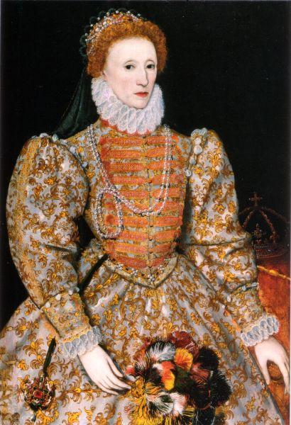 """Elisabeta I (în engleză Elizabeth I) (7 septembrie 1533 – 24 martie 1603 ) a fost regină a Angliei și regină a Irlandei din 17 noiembrie 1558 până la moartea sa - in imagine, Elisabeta I , """"Darnley Portrait"""", c. 1575 - foto: ro.wikipedia.org"""