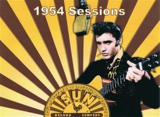 Elvis Aaron Presley (n. 8 ianuarie 1935, Tupelo, Mississippi - d. 16 august 1977, Memphis, Tennessee) a fost un cântăreț și actor american, cunoscut frecvent ca Regele Rock 'n' Roll-ului sau simplu, The King, cu toate ca a obținut și trei premii Grammy pentru muzică Gospel - foto: 706unionavenue.nl