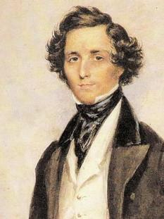 Jakob Ludwig Felix Mendelssohn Bartholdy, în general cunoscut sub numele de Felix Mendelssohn (3 februarie, 1809, Hamburg – 4 noiembrie, 1847, Leipzig) a fost un compozitor și dirijor german, de origine evreiască, care a activat în perioada de început a romantismului. Lucrările sale includ simfonii, concerte, oratorii, piese pentru pian și muzică de cameră. După o lungă perioadă de relativă denigrare, originalitatea sa creativă a fost reevaluată și, în sfârșit, recunoscută -  foto: ro.wikipedia.org
