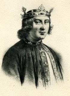 Filip al V-lea (n. 1292 / 93 - d. 3 ianuarie 1322), supranumit Lunganul (franceză: Le Long), rege al Franței și al Navarrei (ca Filip al II-lea) și Contele de Champagne, începând cu 1316 și până la moartea sa - (Filip al V-lea în viziune artistică) foto preluat de pe ro.wikipedia.org