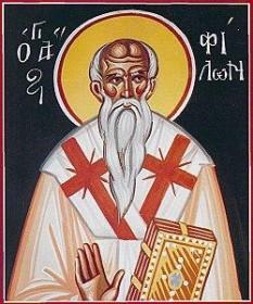 Sfântul Ierarh Filon, episcopul Carpasiei. Prăznuirea lui în Biserica Ortodoxă se face pe 24 ianuarie - foto: doxologia.ro