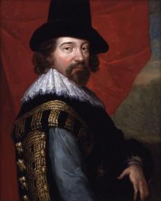 Francis Bacon (n. 22 ianuarie 1561, Londra - d. 9 aprilie 1626, Londra) a fost un filosof englez. A trăit la curtea engleză în timpul domniei lui Elisabeta I a Angliei și apoi în timpul domniei lui Iacob I al Angliei, in imagine, Sir Francis Bacon, portret circa 1618 - foto: ro.wikipedia.org