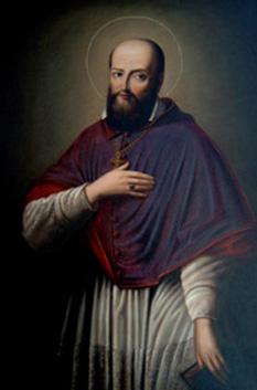 Francisc de Sales (François de Sales) (n. 1567, Thorens-Glières, Savoia, d. 1622, Lyon) venerat ca sfânt în Biserica Catolică și în Biserica Anglicană, a fost un episcop catolic al Genevei - foto: ro.wikipedia.org