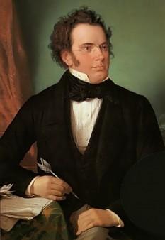 Franz Peter Schubert (n. 31 ianuarie 1797, Himmelpfortgrund, astăzi în compunerea districtului (germ. Gemeindebezirk) Alsergrund, Viena - d. 19 noiembrie 1828, Viena) a fost un compozitor romantic austriac, in imagine, Portret în ulei al lui Franz Schubert, realizat de Wilhelm August Rieder în 1875 - foto: ro.wikipedia.org