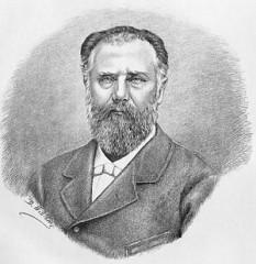 George D. Vernescu (n. 1 iulie 1829, București - d. 3 iulie 1900, București) a fost un jurist și om politic român. De-a lungul timpului a ocupat funcții precum cele de ministru de finanțe și de interne al României - foto: ro.wikipedia.org