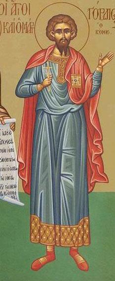 Sfântul Mucenic Gordie. Pomenirea sa de către Biserica Ortodoxă se face la 3 ianuarie - foto: doxologia.ro