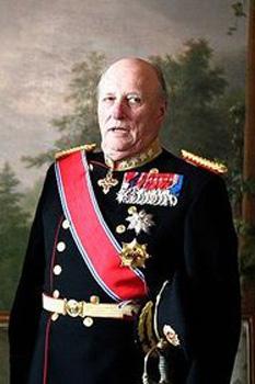 Harald al V-lea al Norvegiei (n. 21 februarie 1937, Asker) este regele Norvegiei. A urcat pe tronul Norvegiei după moartea tatălui său, Olav al V-lea, la data de 17 ianuarie 1991 - in imagine, Regele Harald în 2010 - foto: ro.wikipedia.org